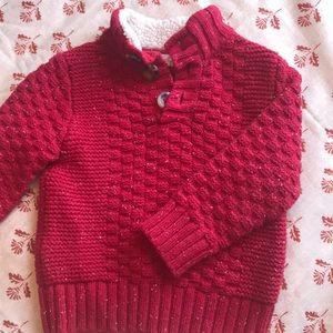 Cat & Jack- Red Sweater